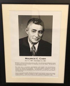 Portrait of Cash